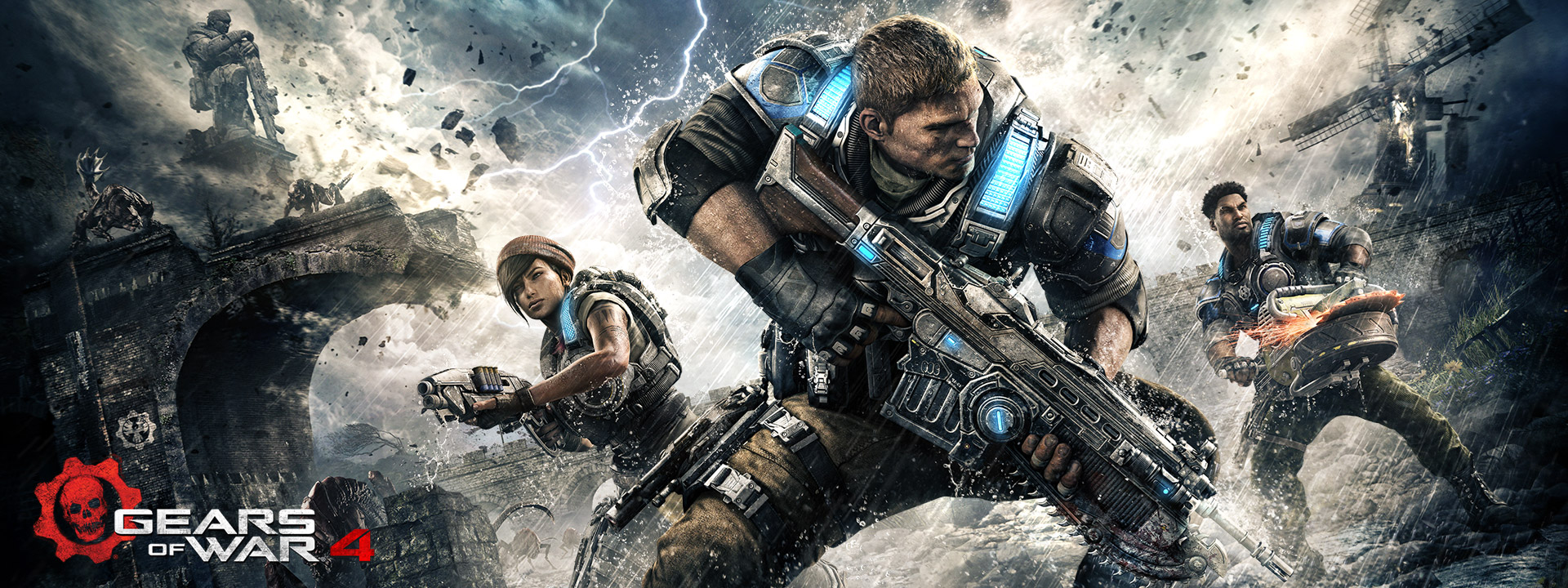 Review: Gears of War 4 – Microsofts Chainsaw Massacre