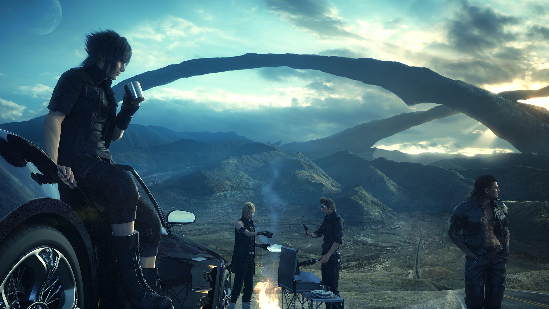 Review: Final Fantasy XV – Vier Freunde müsst ihr sein