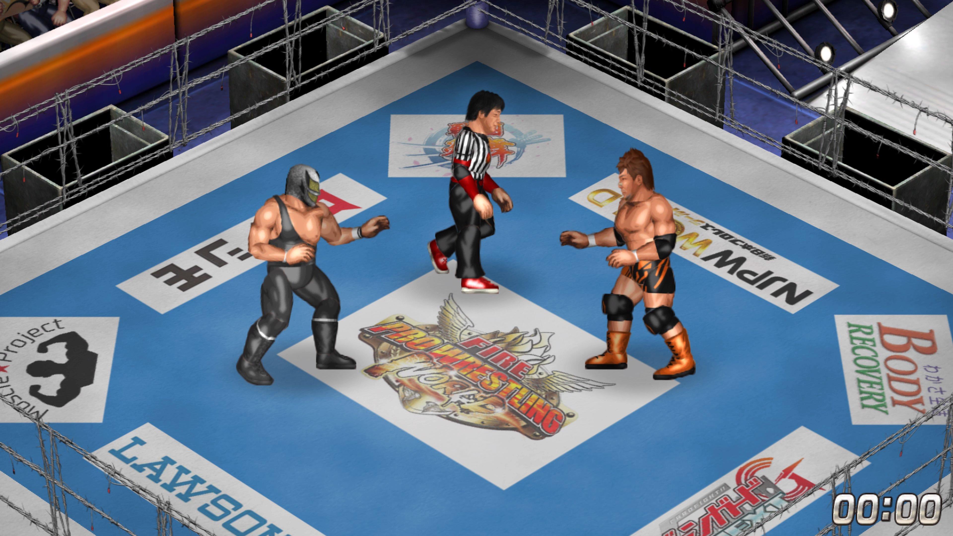Fire Pro Wrestling World Beitragsbild