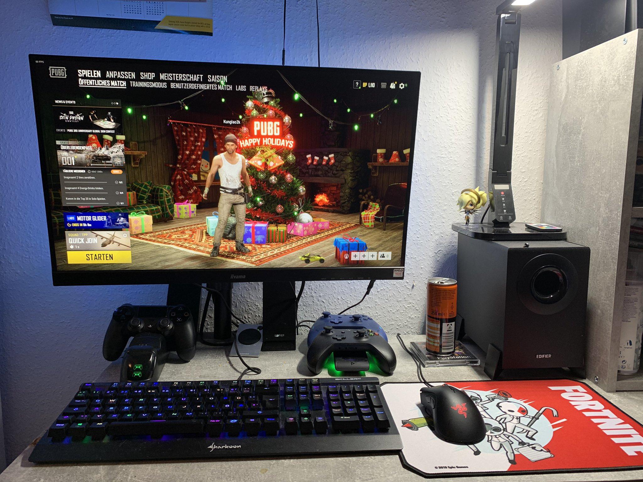 Mein Gaming Setup: gut und günstig