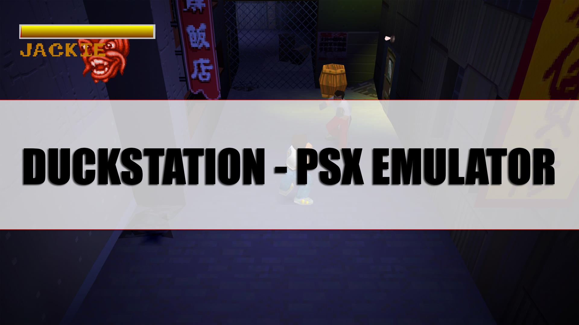 Duckstation: Playstation 1 Emulation in 4k